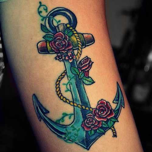 Tattoo Ideas Anchor: Anchor Tattoo Meanings