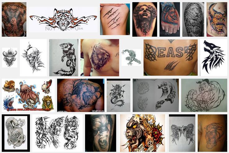 Beast Tattoo Meanings Itattoodesigns Com