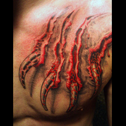 Tiger scratch tattoo designs claw tattoo meanings itattoodesigns com