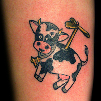 Cow Tattoo Meanings Itattoodesigns Com