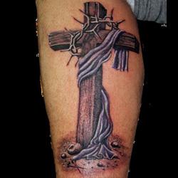 Cross Tattoo Meanings | iTattooDesigns.com