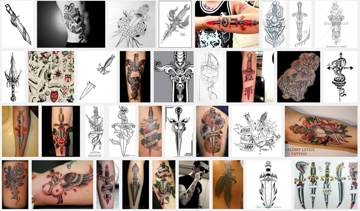 Dagger Tattoo Meanings Itattoodesigns