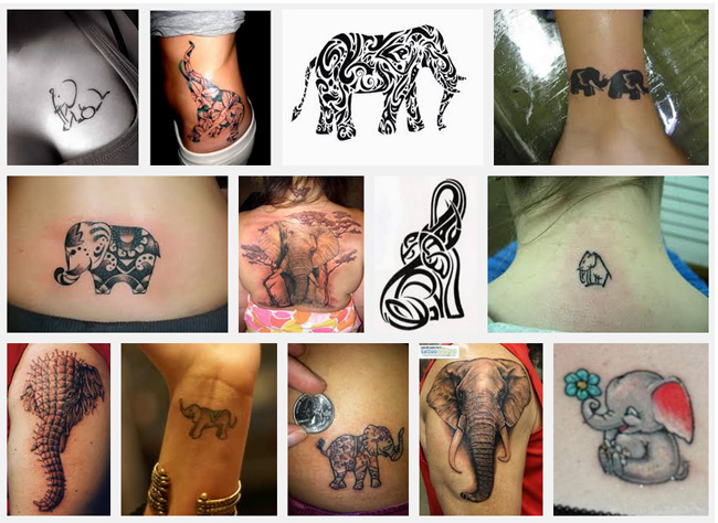 for Meaning of elephant tattoo