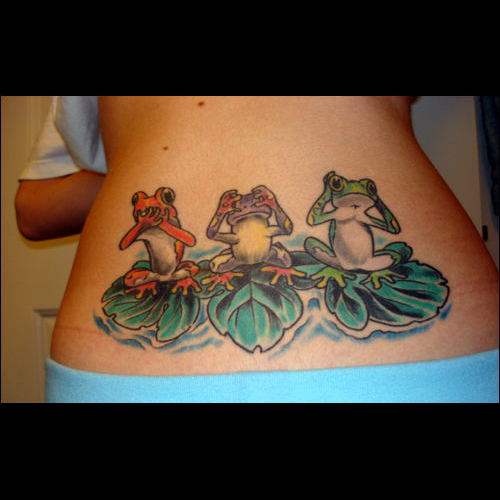 Frog Tattoo Meanings Itattoodesigns