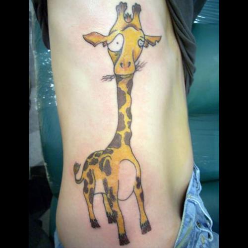 Giraffe Tattoo Meanings ITattooDesignscom