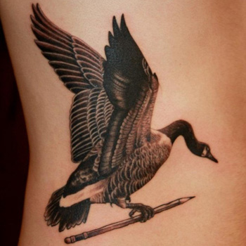 Canadian goose tattoo black friday 2016 deals sales for Black friday tattoo deals