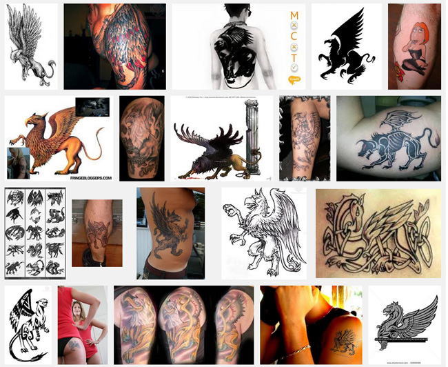 Griffin Tattoo Meanings Itattoodesigns