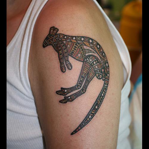 Kangaroo Tattoo Meanings Itattoodesignscom