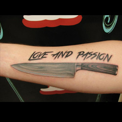 Knife Tattoo Meanings | iTattooDesigns.com