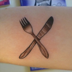 knife tattoo meanings | itattoodesigns