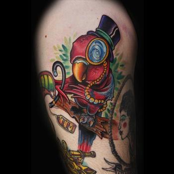 Parrot Tattoo Meanings Itattoodesignscom