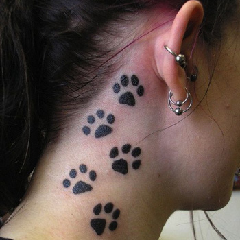 Paw Print Tattoo Meanings Itattoodesigns