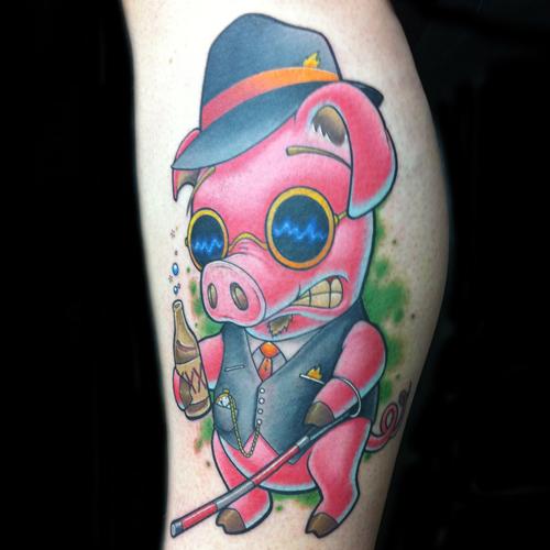 Pig TattoosFlying Pig Tattoo Designs