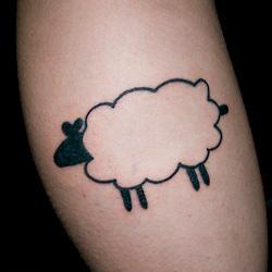 Sheep tattoo meanings for Black sheep tattoo