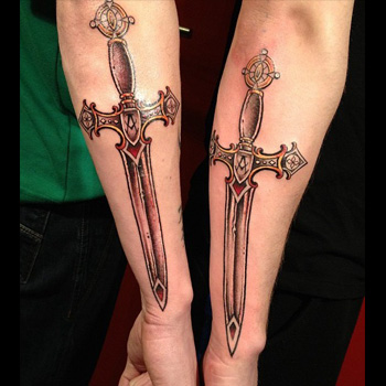 Sword Tattoo Meanings | iTattooDesigns com