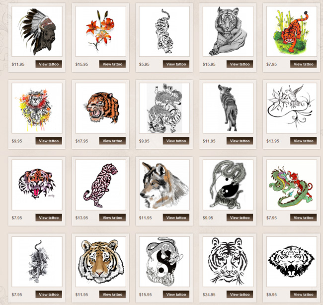 Tiger Tattoo Meanings Itattoodesigns
