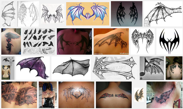 Wings Tattoo Meanings Itattoodesigns