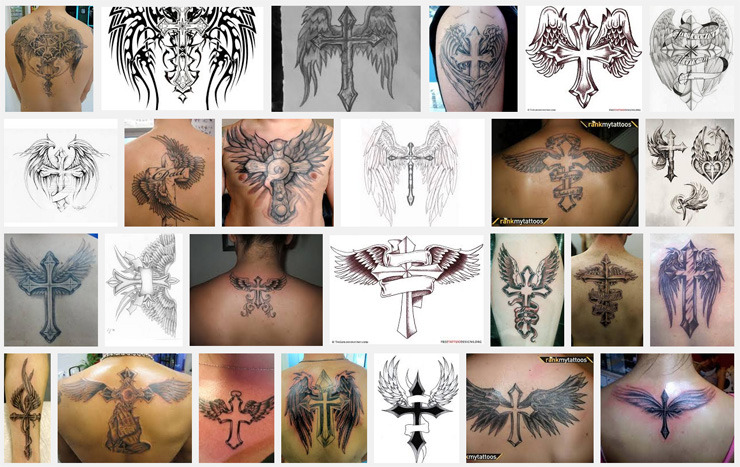 554be1ce9a0aa Wings Tattoo Meanings | iTattooDesigns.com