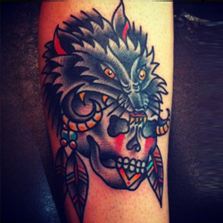 wolf tattoo meanings. Black Bedroom Furniture Sets. Home Design Ideas