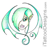green eyed fairy
