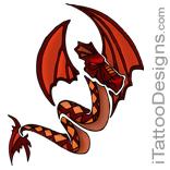 red dragon tattoo