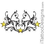 3 yellow stars