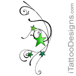 green star design
