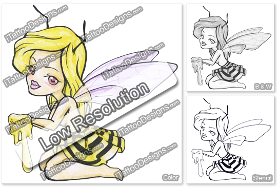 fairy bee